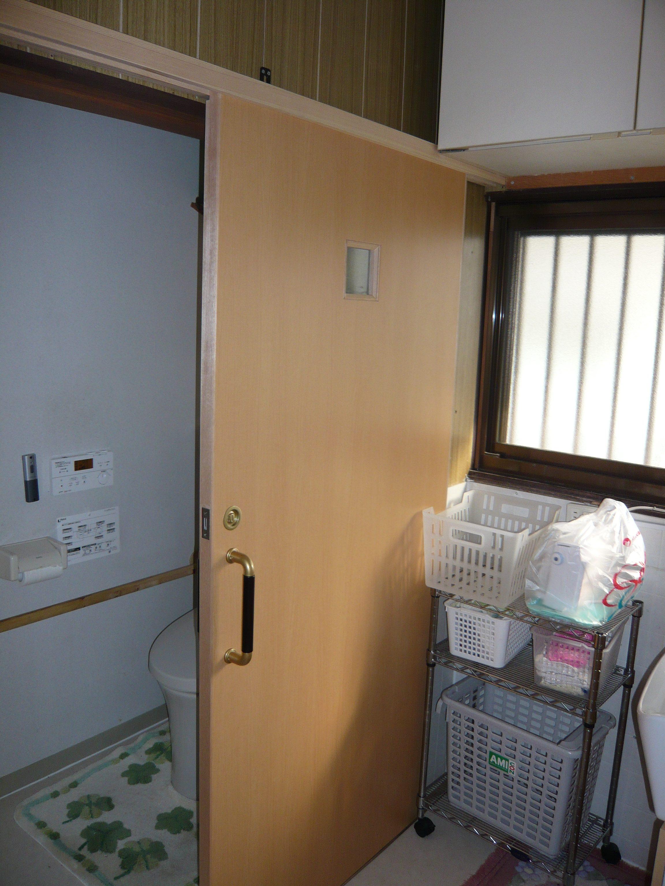 介護が楽にできるように、補助金を活用してトイレをリフォームしました。
